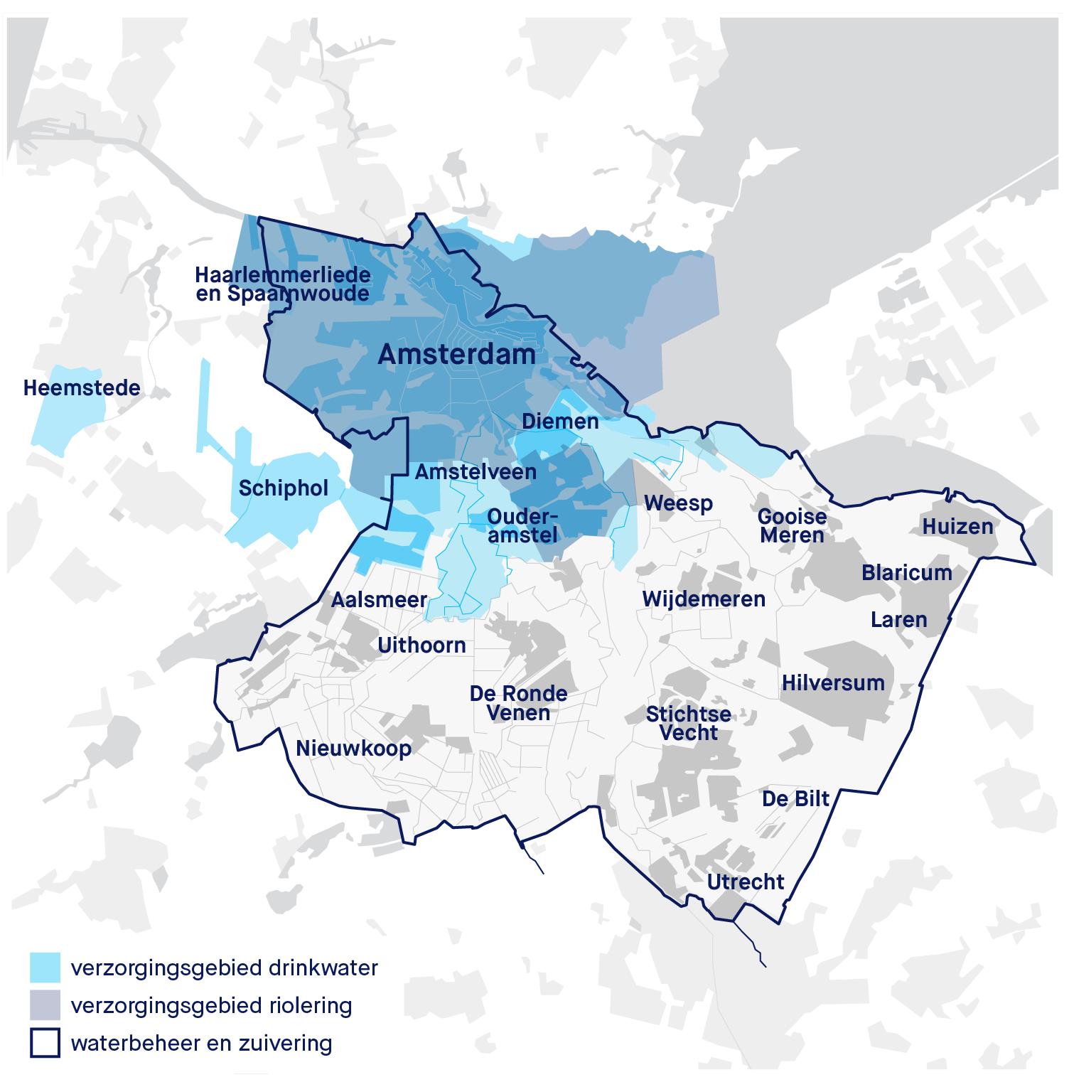 Plaatsen Rond Amsterdam.Is Waternet Mijn Waterleverancier Waternet