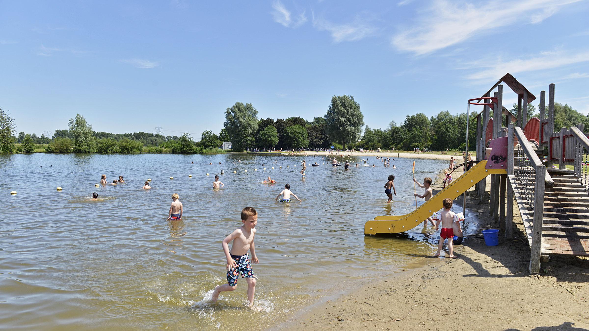 Zwembad Amsterdam Zuidoost.Zwemwater Waternet